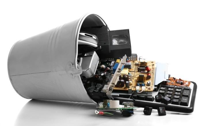 hazardous waste electronic recycle