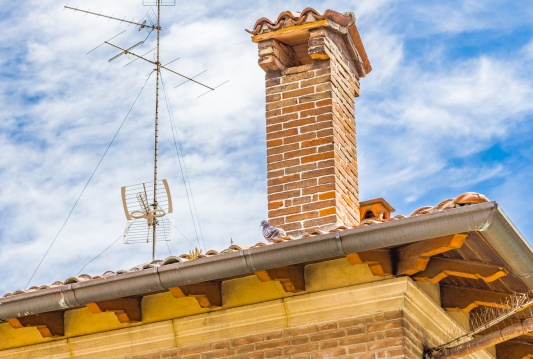 Clay chimney cap